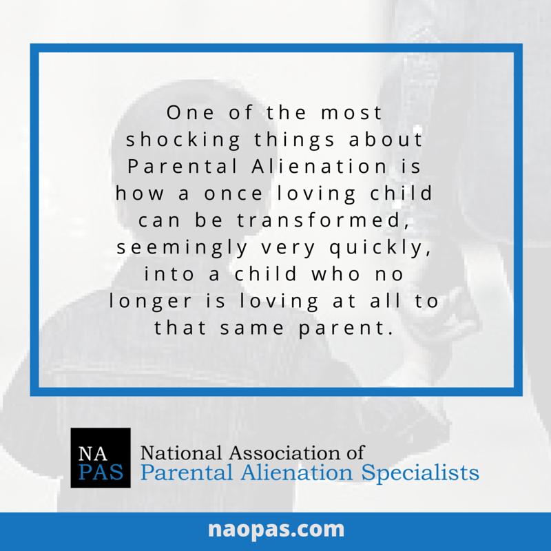 how can parental alienation happen