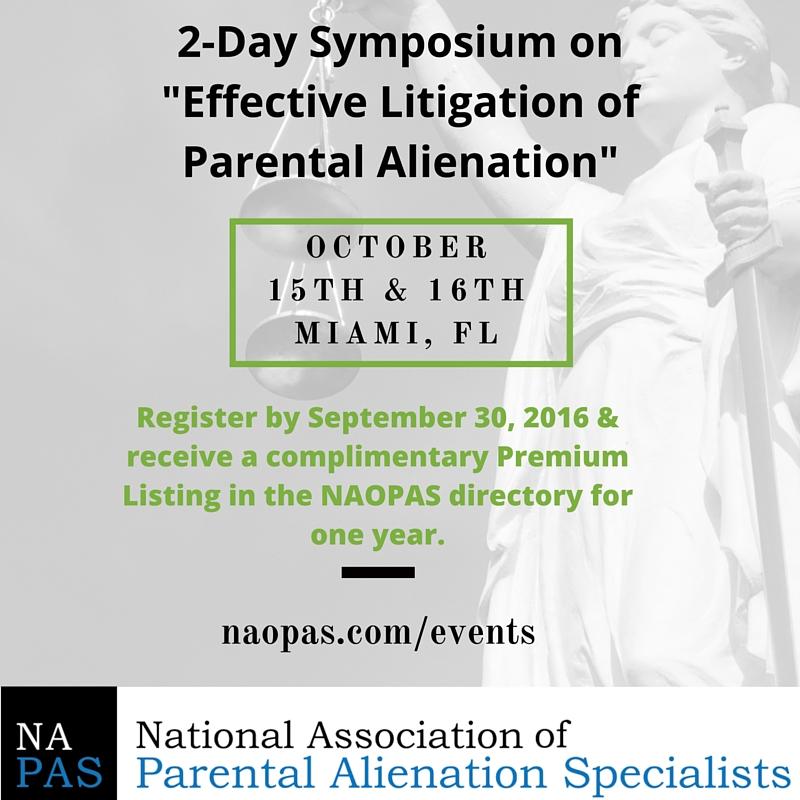 Parental Alienation Education for Lawyers